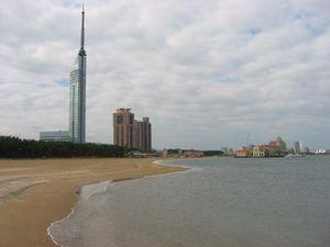 Fukuoka beach tower